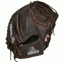 ies 32 Baseball Catchers Mitt (Right Handed Throw) : The Nokona X2