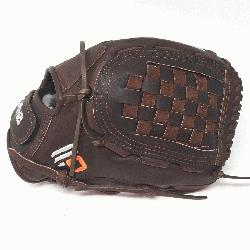 ite Fast Pitch Softball Glove 12.5 inches Chocolate lace. Nokona Elite performance ready for play