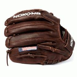 ite Fast Pitch Softball Glove Chocolate Lace. Nokona Elite performance ready for play position sp