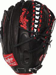 ro Preferred Gameday Pattern. 12.75 inch outfield glove. Trap-eze web and conventional back