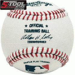 wlings Baseball 5-Tool Triple Play Trainer Soft Baseballs (1 Dozen) : Rawlings Ripken Baseball 5-To