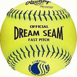 FOR ASA AND HIGH SCHOOL LEVEL FASTPITCH SOFTBALL PLAYERS, these balls provide durability and con