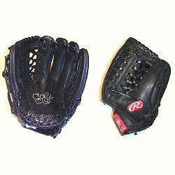 love Series 11.5 Modified Trap-eze Web Black baseball glove. Rawlings gold glove se
