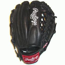 Gold Glove Series 11.5 Modified Trap-eze Web Black baseball glove. Rawlings gold glove s