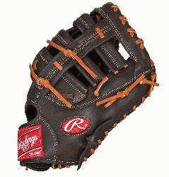 GXPFM18MO First Base Mitt 12.5 Inch Mocha (Right Handed Throw) : T
