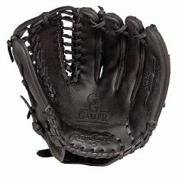 he G601B Rawlings Gold Glove Gamer baseball glove features the Trapeze web pattern