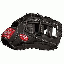 d Glove First Base Mitt. Rawlings pro patterns, pro grade laces and pro soft leather al
