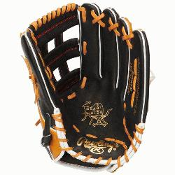 leather crafted from the top 5% steer hide 12 3/4 pro-grade 303 pattern with a Pro H™ web De