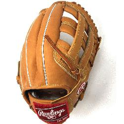 PRO1000HC Heart of the Hide Baseball Glove is 12 inches. Made with Code 55 Horween&nbs