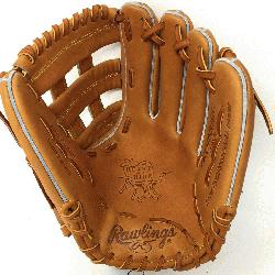 00HC Heart of the Hide Baseball Glove is 12 inches. Made with Code 55 H