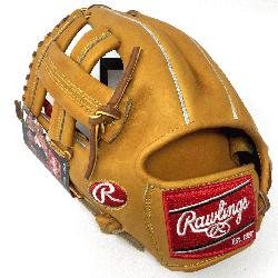 Rawlings PROSPT Heart of the Hide Baseball Glove is 11.75 inch. Made with Horween C55 tanned Heart