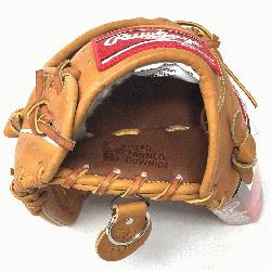 e Rawlings PROSPT Heart of the Hide Baseball Glove is 11.75 inch. Made w