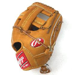 Made with premium Japanese tanned leather this Heart of the Hide baseball glove from Rawl