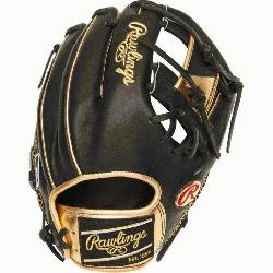 Rawlings' world-renowned Heart of the Hide steer hide leather, Heart