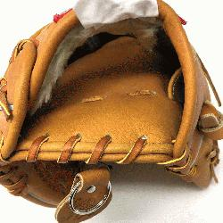 Rawlings PRO1000HC Heart of the Hide Baseball Glove is 12 inches. Made with
