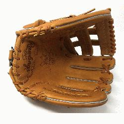 The Rawlings PRO1000HC Heart of the Hide Baseball Glove is 12 inches. Made with Ho