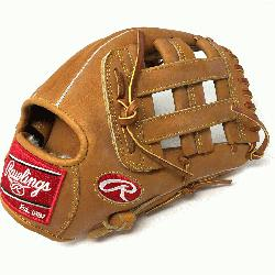 The Rawlings PRO1000HC Heart of the Hide Baseball Glove is 12 inches. Made with Horwe