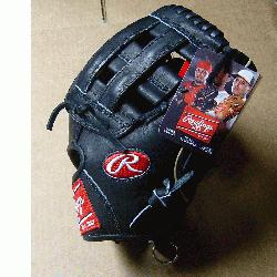 his Heart of the Hide Players Series baseball glove from Rawlings