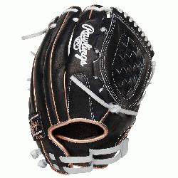 afted from quality full-grain leather, the 2021 12-inch Heart of the Hide softball glove offers