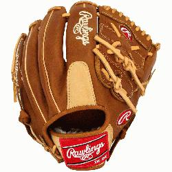 gs Heart of the Hide baseball glove features a conventional back and the Two Piece So