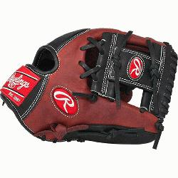 he Hide 11.5 inch Baseball Glove PRO200-2PB (Right Hand Throw) : This Heart of the Hide play