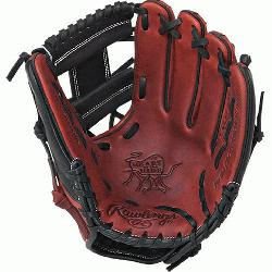 the Hide 11.5 inch Baseball Glove PRO200-2PB (Right Hand Throw) : This Heart of the H