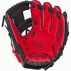 he Hide Red Black Baseball Glove 11.5 inch PRO202SB (Right-Hand-Throw) : Infused with contempo