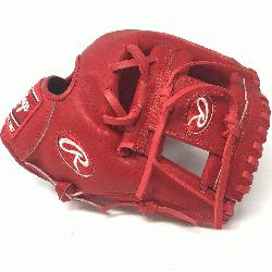 the Hide. Pro I Web. Indent Red Heart of Hide Leather. Stand