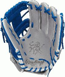 SIGNED FOR INFIELD PLAYERS, this Heart of the Hide 11. 5 inch Pro I Web gl