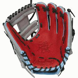 Take your game to the next level with the 11.5-Inch Heart of the Hide ColorSync I-Web glove. It