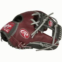 cted from Rawlings' world-renowned Heart of the Hide® steer hide leather, Heart o