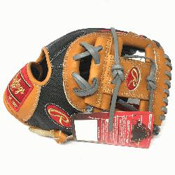 from world renowned Heart of the Hide premium steer hide leather. 11.5 inch with PRO I Web with dou