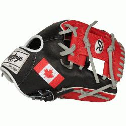 diting Olympic Country Flag Series. Constructed from Rawlings' world-renowned Heart of the