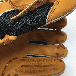 of the Hide Wingtip Back and Mesh Back combo. 11.5 inches and I Web Infield Glove. Right Hand Th