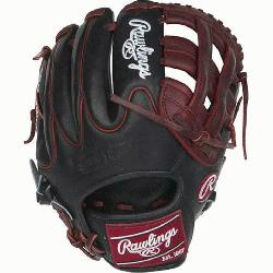 ted Edition Color Sync Heart of the Hide baseball glove features a PRO H Web pat