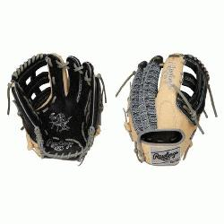 Heart of the Hide Leather Shell Same game-day pattern as some of baseball's top pros L