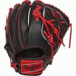 d from Rawlings' world-renowned Heart of the Hide® steer hide leather, Heart of