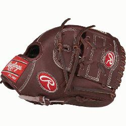 Rawlings' world-renowned Heart of the Hide® steer hide leather, Heart of the Hide&