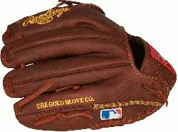 m Rawlings world-renowned Heart of the Hide steer leather, Heart of the Hide gloves feature the g