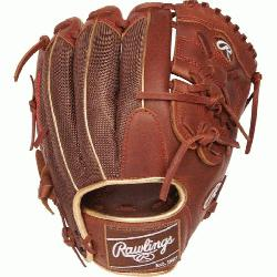ern Heart of the Hide Leather Shell Same game-day pattern as some of baseball's top pros L