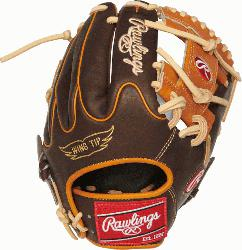 onstructed from Rawlings' world-renowned Heart of the Hide steer hide leather,