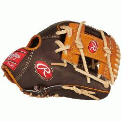 Rawlings' world-renowned Heart of the Hide steer hide leather, Hea