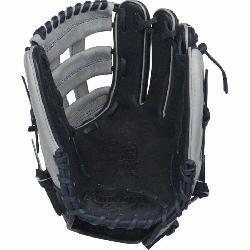 on Color Sync Heart of the Hide baseball glove features a PRO H