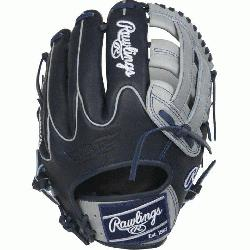 ed Edition Color Sync Heart of the Hide baseball glove features a PRO H Web pat