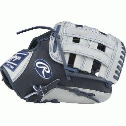 n Color Sync Heart of the Hide baseball glove features a