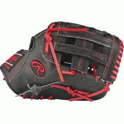 H™ is an extremely versatile web for infielders and outfielders Infield glove 60% p