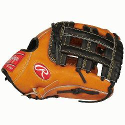 Hide baseball glove from Rawlings features a PRO H Web pa
