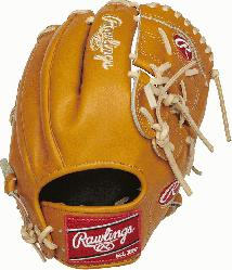 Heart of the Hide baseball gloves are handcraft