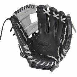 This Heart of the Hide baseball glove from Rawlings features a c