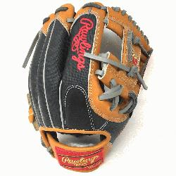 Heart of the Hide baseball glove from Rawlings features a conventional back and the Modifi